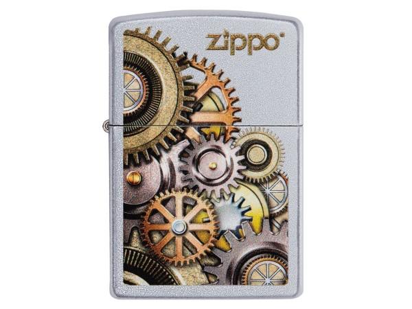 "Org.ZIPPO street cr. color ""Metallic Gears"" 60004851"