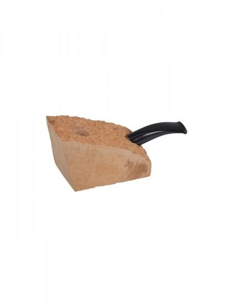 Plateauholz-Bruyerekantel (gebogen/Acrylmundstück)