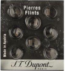 Dupont Feuersteine Schwarz (8 Stück)