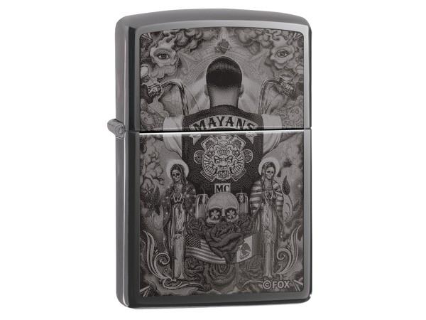 "Org.ZIPPO Black Ice gel. ""Mayans - Cowl"" 60004906"