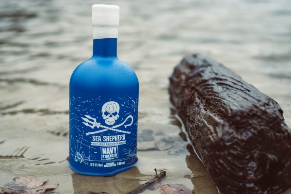 Sea Shepherd Islay Single Malt Whisky Navy Strength 57,1% - Batch 001