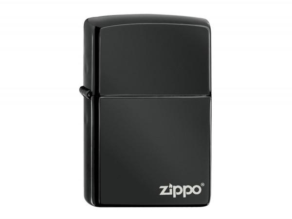 """Org.ZIPPO Ebony gelasert """"Zippo Logo"""" 60001246"""
