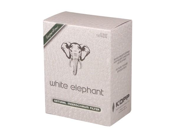 White Elephant Natur-Meerschaumfilter 9mm Box Inhalt 150 Fil