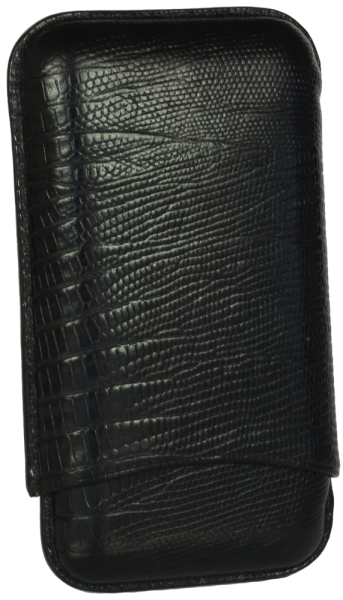 Martin Wess 3er Etui Robusto - 591 Lizard BK
