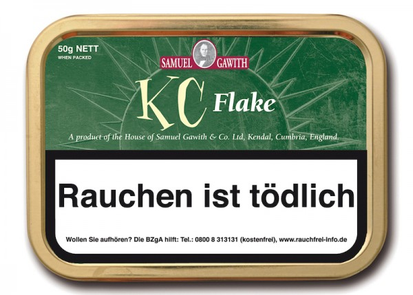 Samuel Gawith's KC Flake (ehem. Kendal Cream Flake)