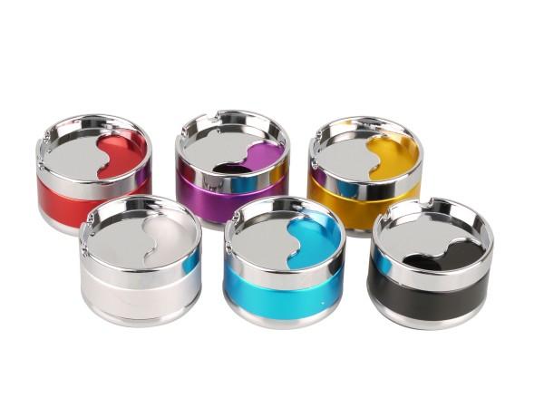 Ascher Metall Alu-Design farbig sortiert 9cm
