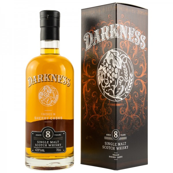 Darkness 8y. Sherry Cask Finish