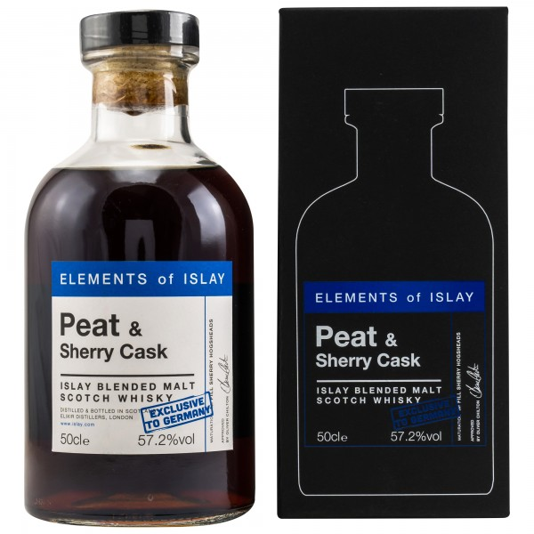 ELEMENTS of ISLAY - PEAT & Sherry Cask - Germany Exclusive