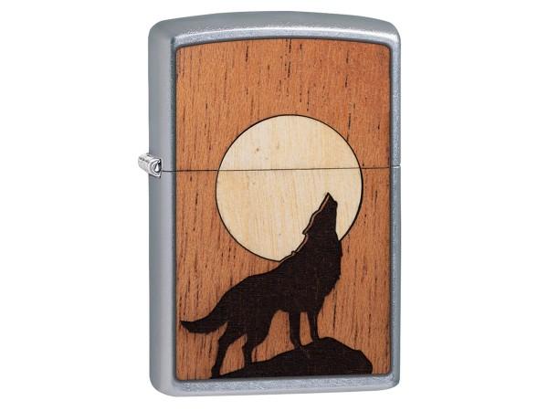 "Org.ZIPPO str. cr.""Wood Emblem How.Wolf beidseitig"" 60004939"